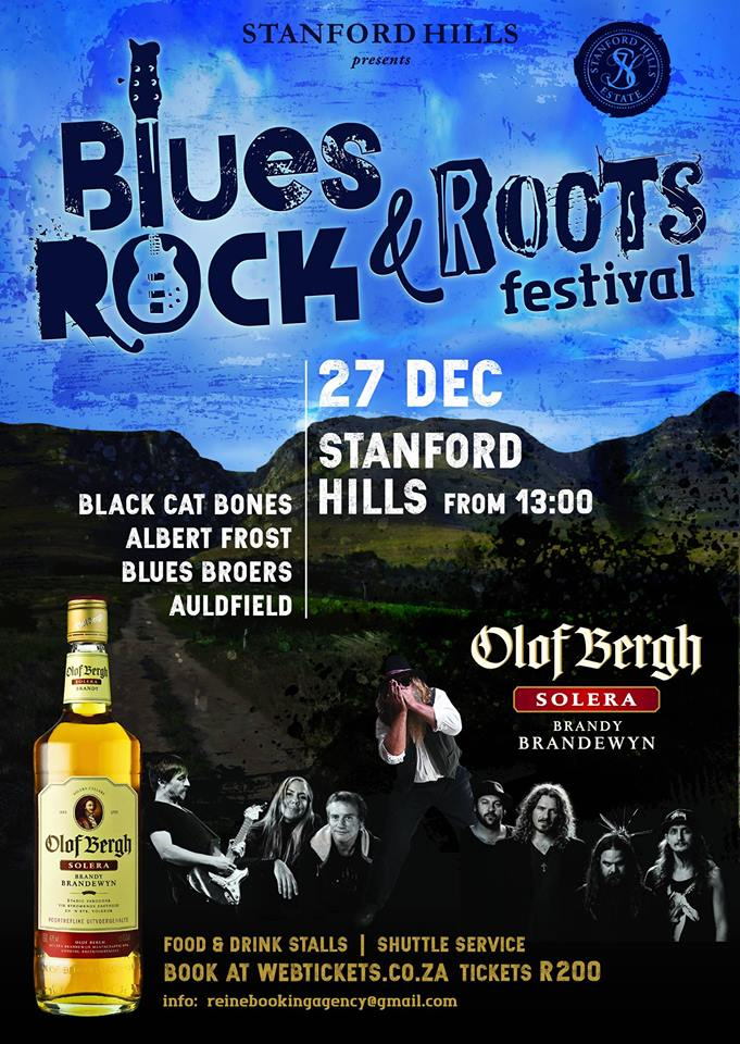 The Blues Rock & Roots Festival ~ 27 December 2018