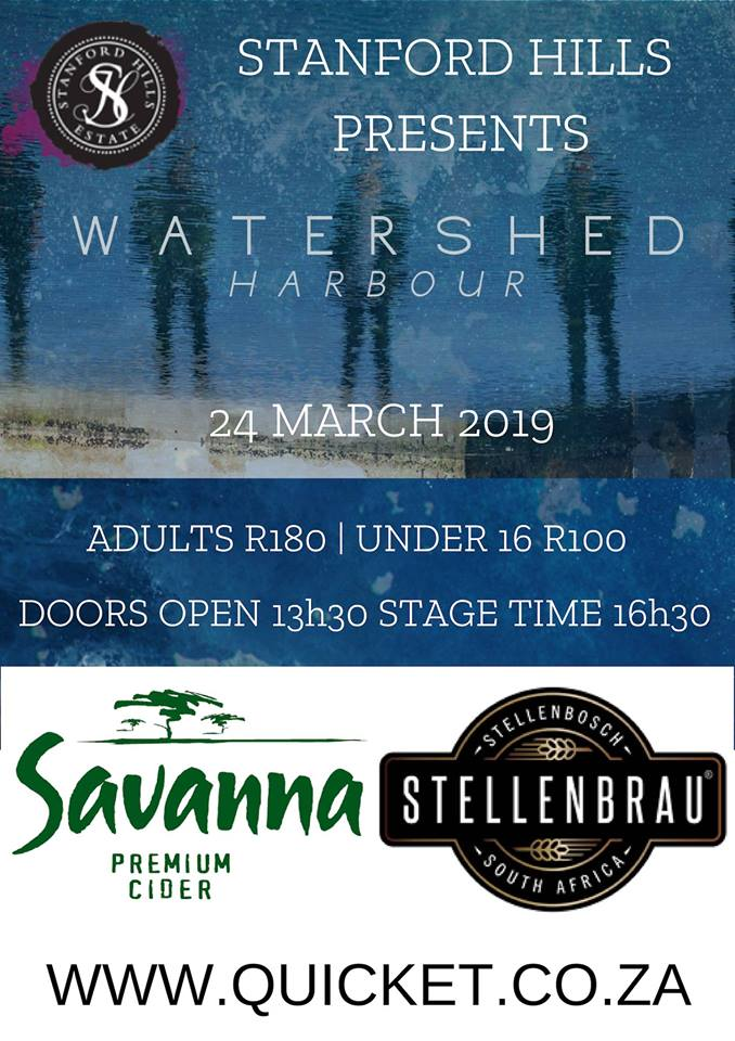 Watershed Live at Stanford Hills ~ 24th March 2019