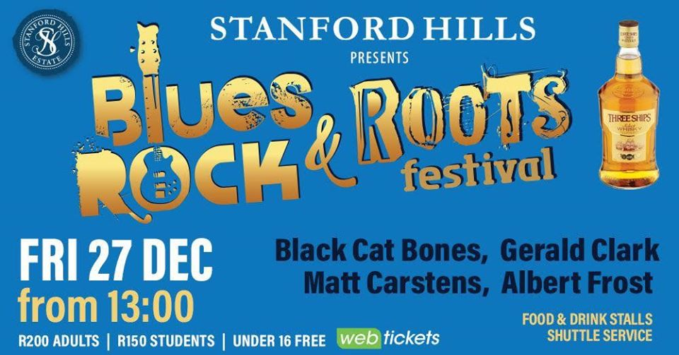 Blues Rock & Roots Festival ~ 27 December 2019