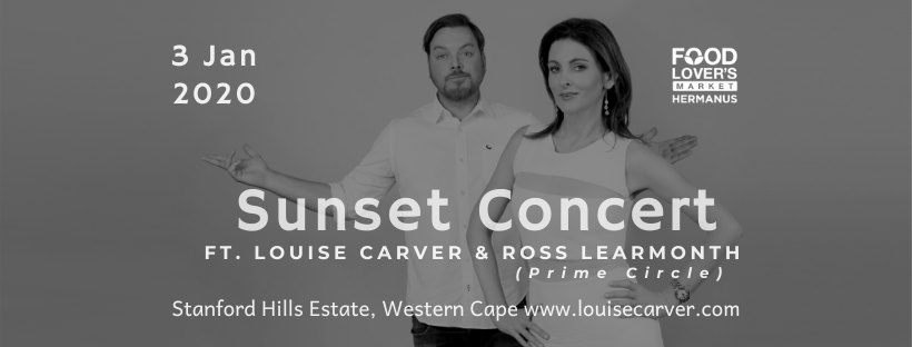 Sunset Concert ft. Louise Carver & Ross Learmonth (Prime Circle) ~ 3 January 2020